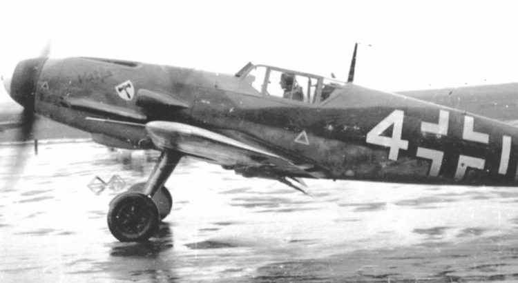 """Messerschmitt Bf-109 F-4 """"Katja"""" Oblt. Hans Schleef 7./JG3"""