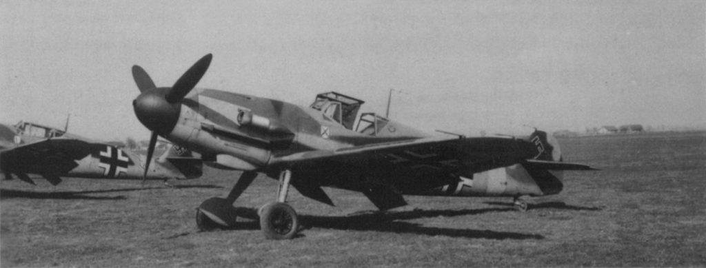 Messerschmitt Bf-109 F-4/trop I./JG3 Северная Африка